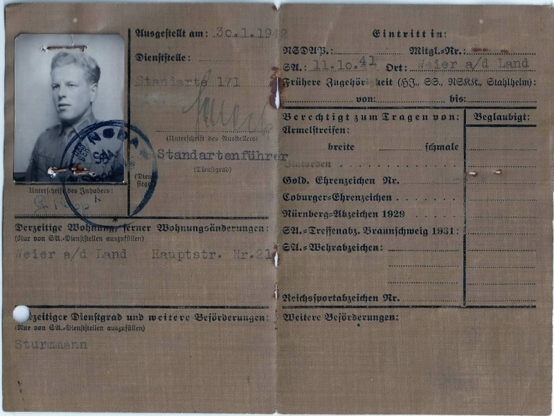 Vos livrets militaires allemands WWII (Soldbuch, Wehrpass..) / Heer-LW-KM-SS... - Page 2 Scan0058
