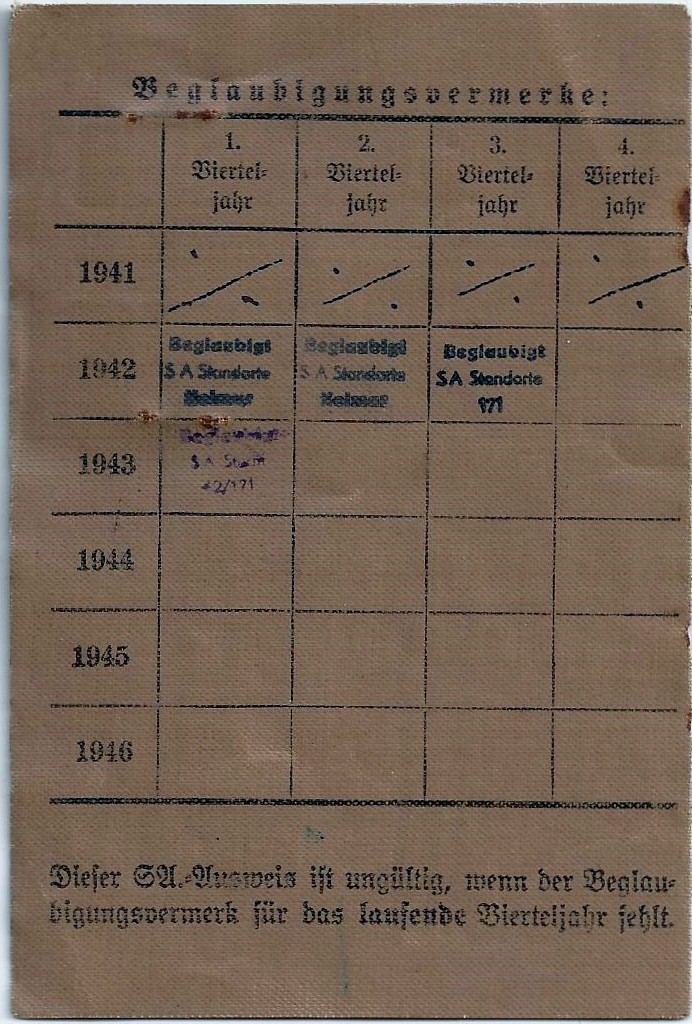 Vos livrets militaires allemands WWII (Soldbuch, Wehrpass..) / Heer-LW-KM-SS... - Page 2 Scan0059