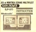 Les differentes notices de Game & Watch Rain_s10