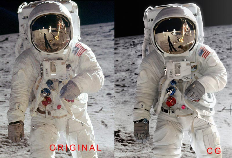 Un remake de la photographie d'Aldrin 66e46b10