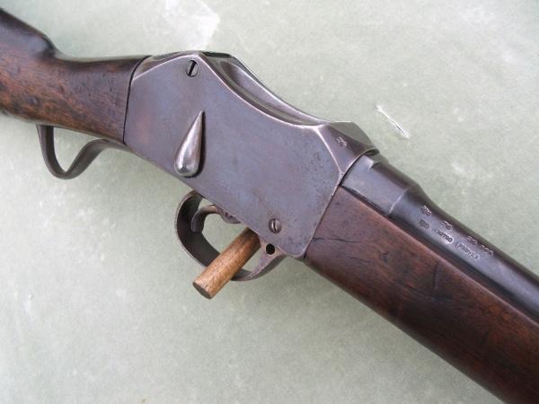 carabine martini henry inconnue en calibre 8mm 303-m-10