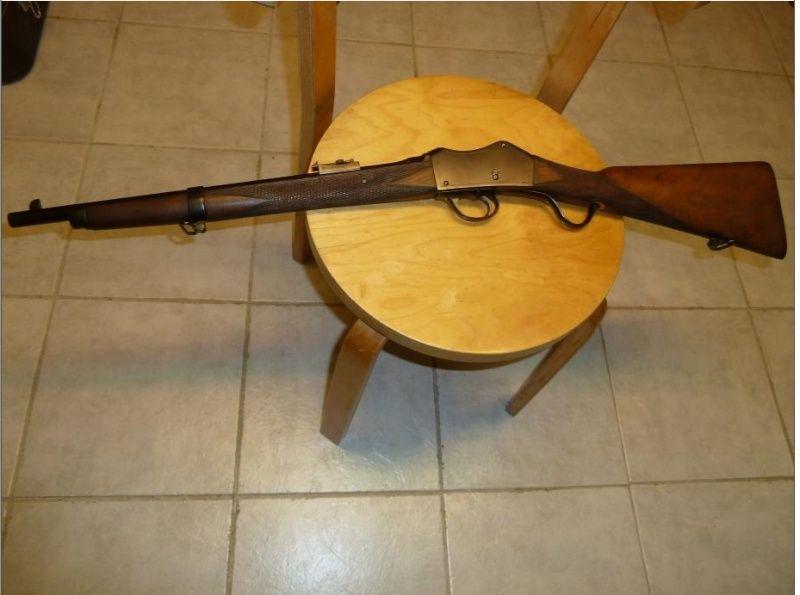 carabine martini henry inconnue en calibre 8mm Aa10