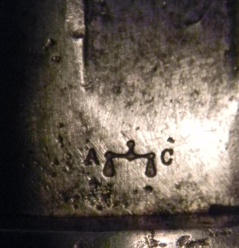 """Sabre-baïonnette genre 1866 """"Chassepot"""" à identifier Dscn5314"""