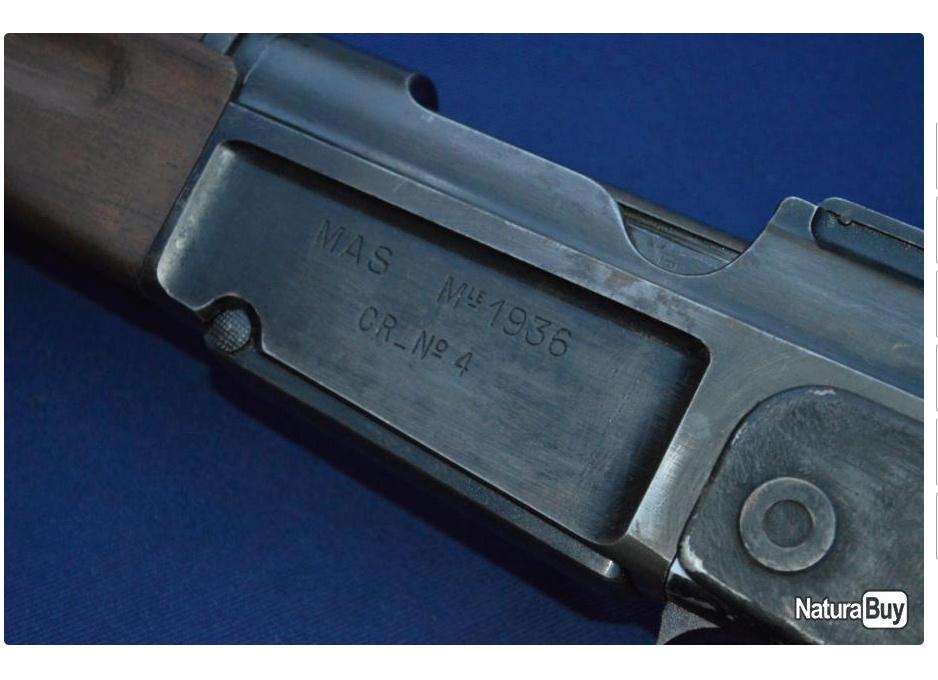 mas 36 cr39 proto, bidouille, arme de cinéma ????  Mas36c10