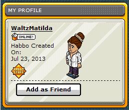 [COM] Nuova Staffer! - WaltzMatilda 6d4a8510