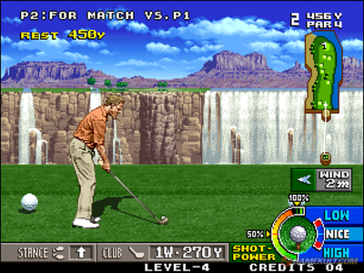 Big Tournament Golf / Neo turf Masters Me000018