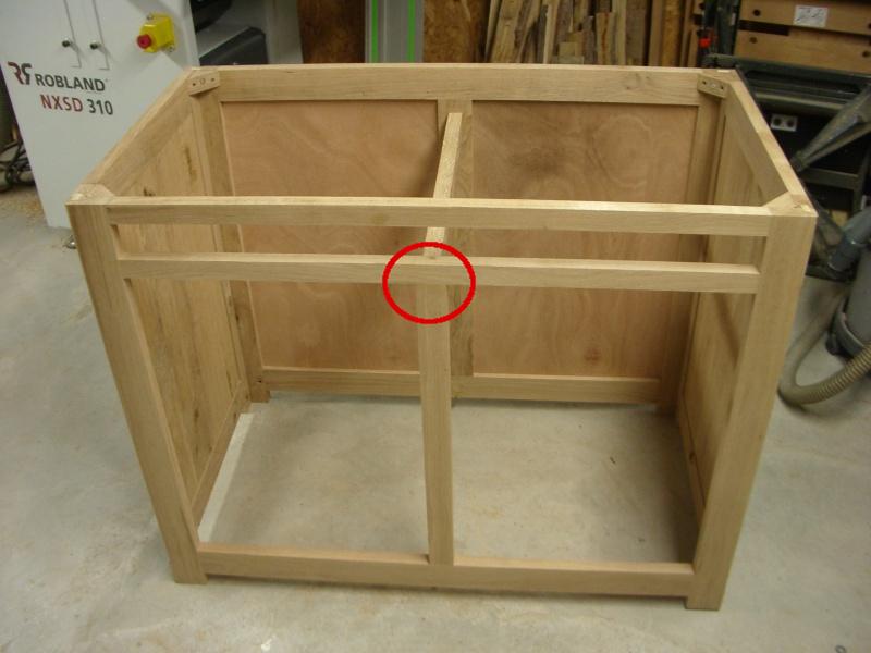 meuble en chêne et fer forgé pour l'ordi  Ossatu10