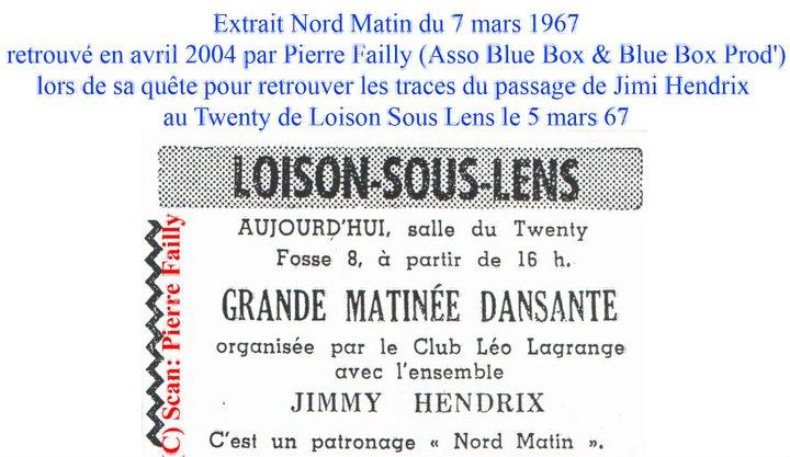 Loison sous Lens (Twenty Club) : 5 mars 1967 59847_10