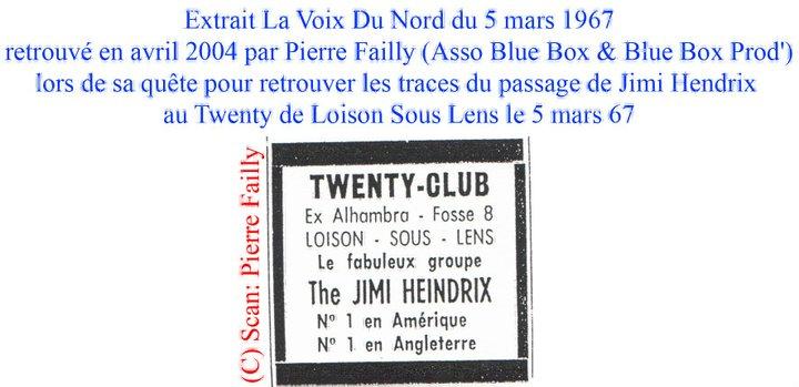 Loison sous Lens (Twenty Club) : 5 mars 1967 61031_10