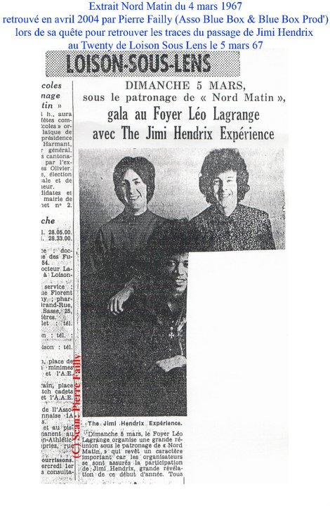 Loison sous Lens (Twenty Club) : 5 mars 1967 63868_10
