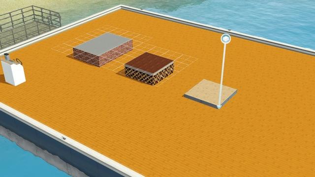 [Débutant] Créer un bateau habitable Niveau10