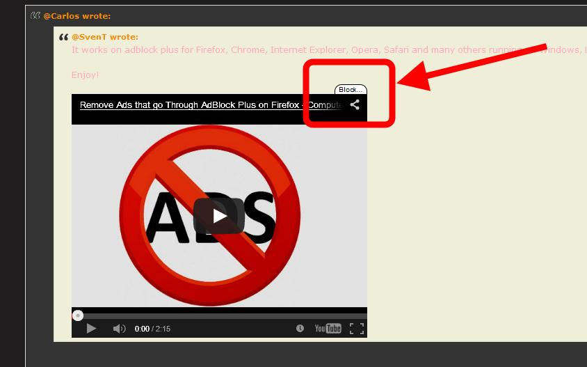 """Get rid of """"non intrusive ads"""" using AdBlock Plus (Video Tutorial)! 72344510"""