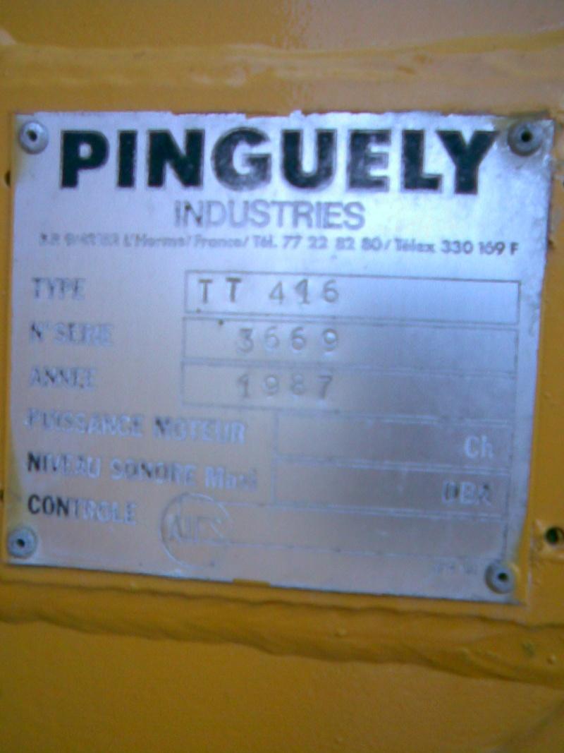 Les matériels anciens de PINGUELY - Page 3 Photo010