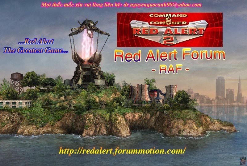 Red Alert Forum
