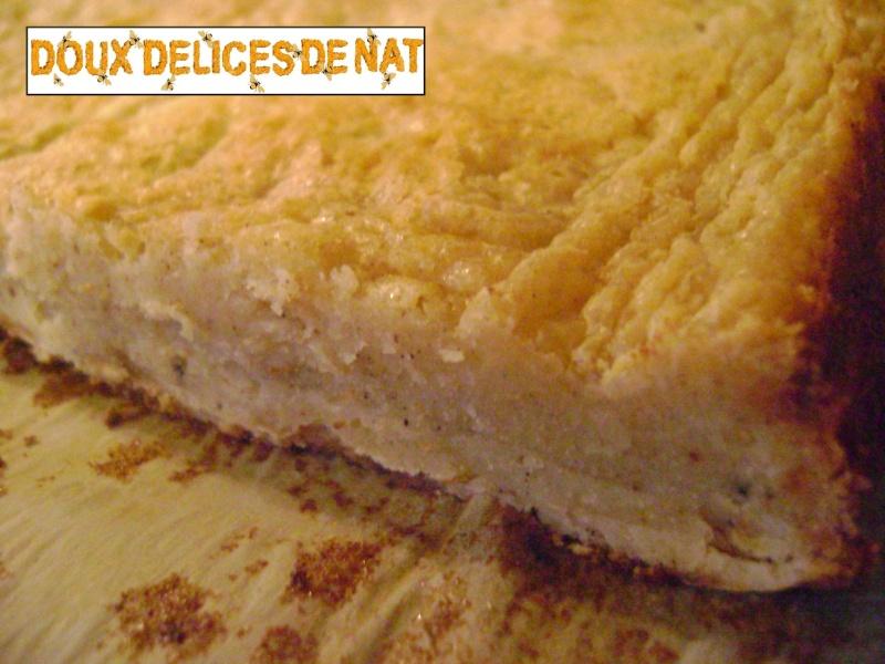 Brownies chocolat blanc et amandes caramelisées Browni15