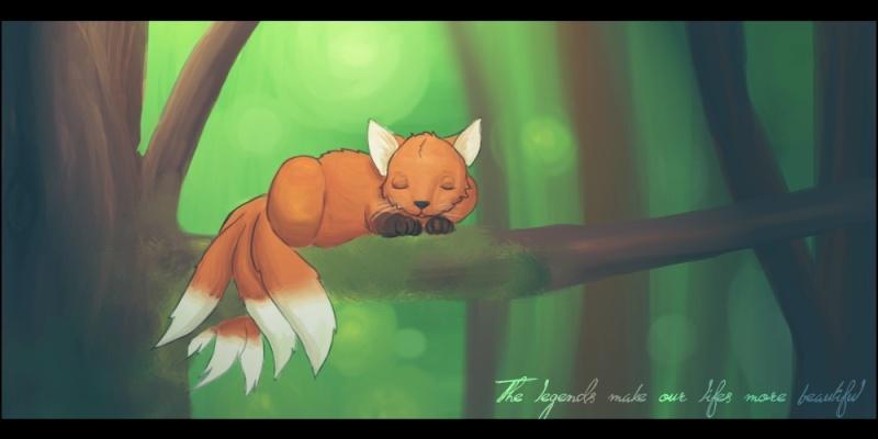 Kitsune (Luciole) The_le10