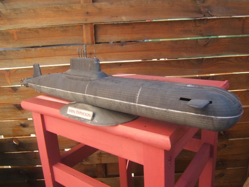 Sous marin Typhoon par Redoutable au  1/400 - Revell Dscf2810