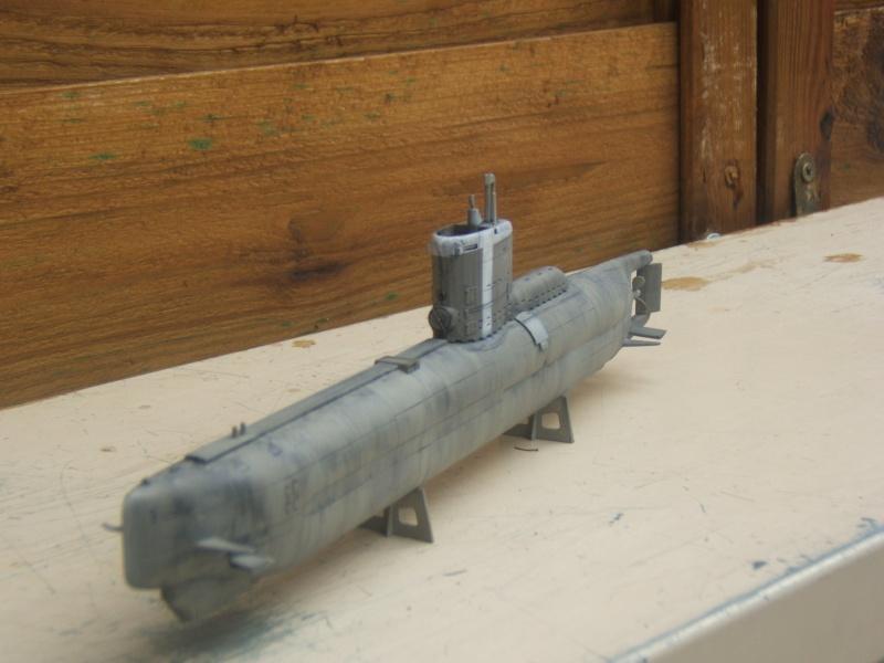 TYPE XXIII U-BOAT au 1/144 par redoutable - trumpeter Dscf2814