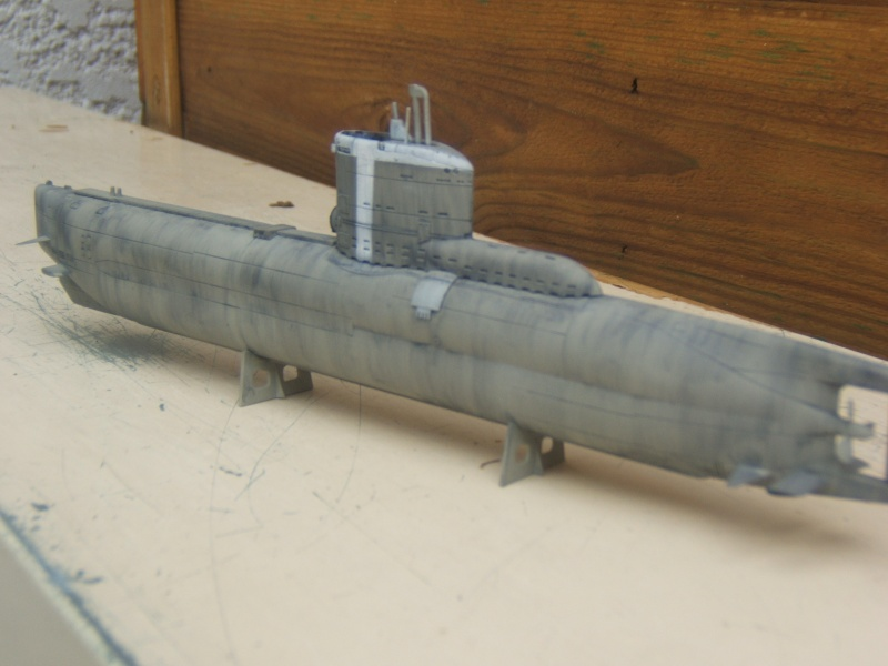 TYPE XXIII U-BOAT au 1/144 par redoutable - trumpeter Dscf2815