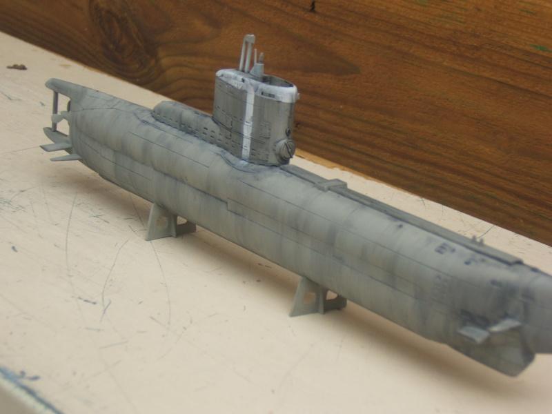 TYPE XXIII U-BOAT au 1/144 par redoutable - trumpeter Dscf2816