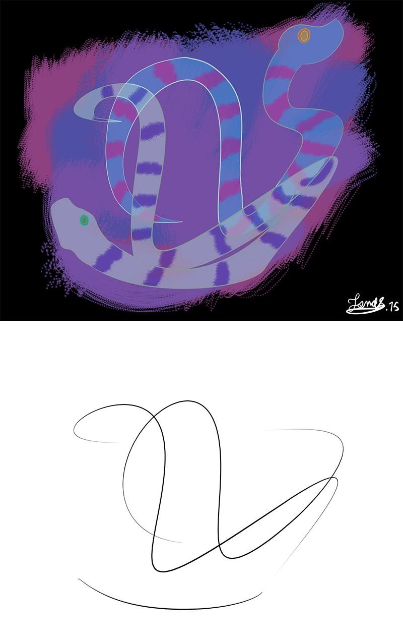 """Défi n°6 """"Improv drawing"""" Dyfi_610"""