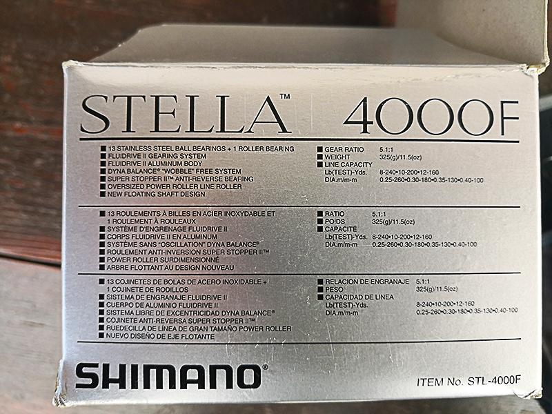 [VENDO] [USATO] Shimano Stella 4000 F  710