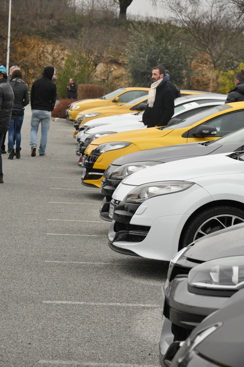 [83] 01/03 2015 Rassemblement Renault Sport PACA  Brignoles  Bri1010