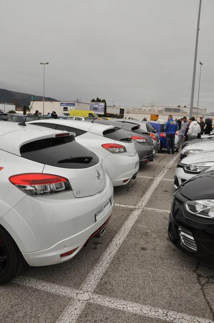 [83] 01/03 2015 Rassemblement Renault Sport PACA  Brignoles  Bri110
