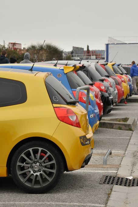 [83] 01/03 2015 Rassemblement Renault Sport PACA  Brignoles  Bri510