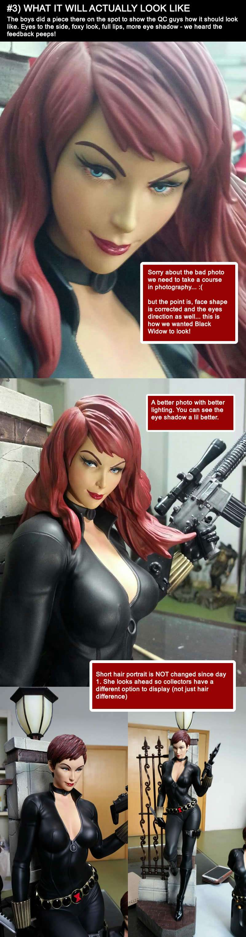 Premium Collectibles : Black Widow - Comics version - Page 3 312