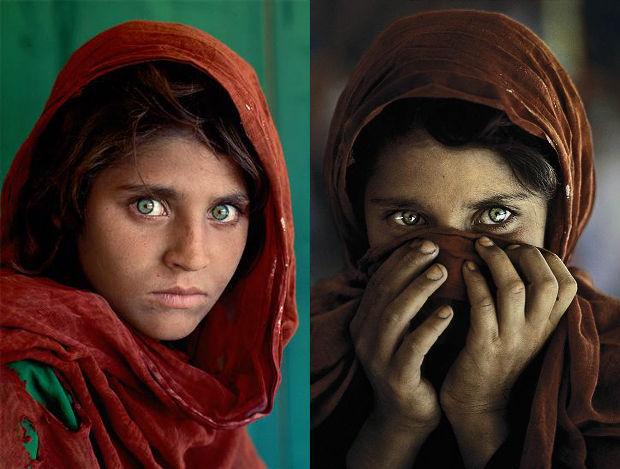 Saib cov me nyuam qhov muag zoo nkauj tshaj plaws hauv ntiaj teb Afghan10
