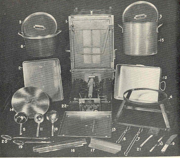 RANGE FIELD M-1937 (fourneau de campagne) Tm10-714