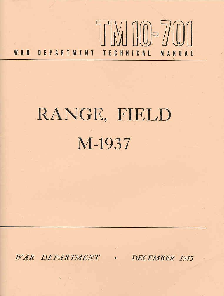 RANGE FIELD M-1937 (fourneau de campagne) Tm10-715