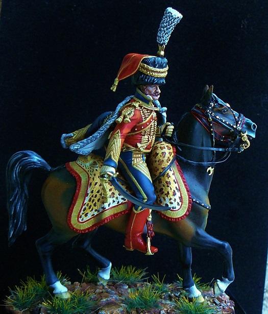 Colonel du 6ème régiment de hussards 1809 00710