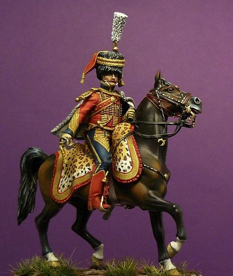 Colonel du 6ème régiment de hussards 1809 Colone10