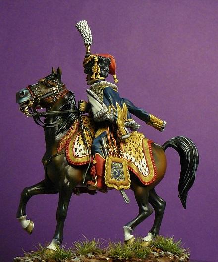 Colonel du 6ème régiment de hussards 1809 Colone11