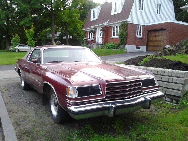 Dodge Magnum 1978 a vendre  2013-010
