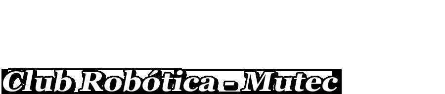 Ya se va a correr en el MUTEC? Logo15