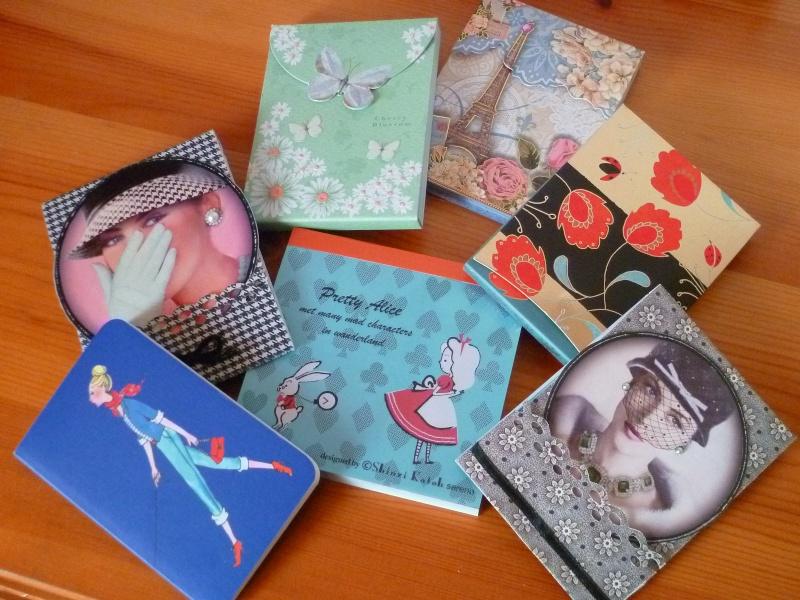Carnets, stylos et autres articles de papeterie P1020910