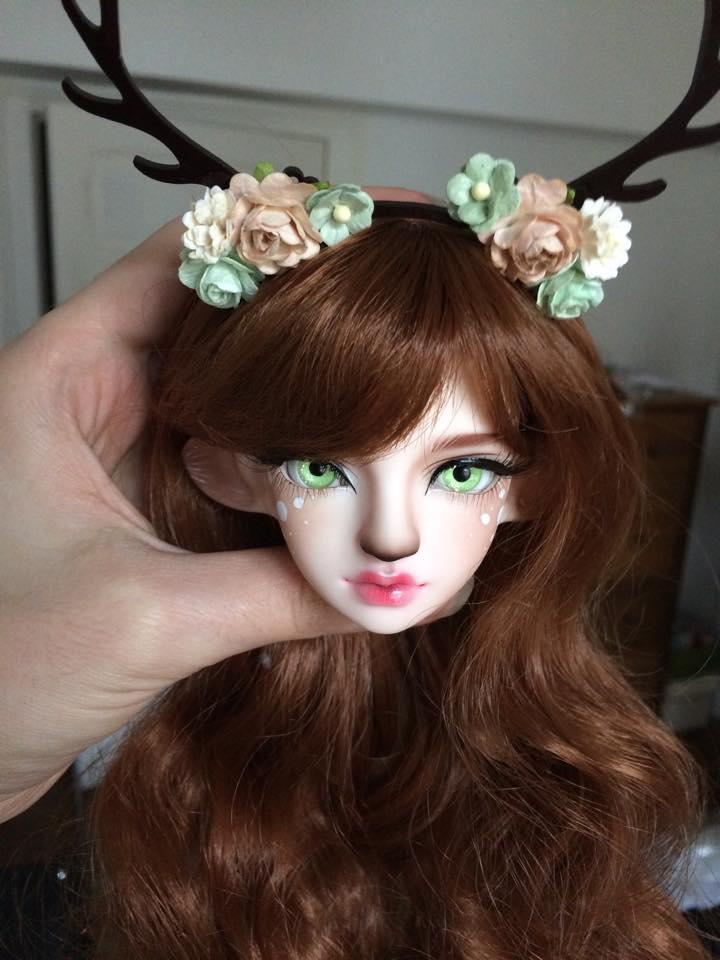 Resinsoul Rong(faune-biche)une belle wig&une belle tenue p3 Makeup12