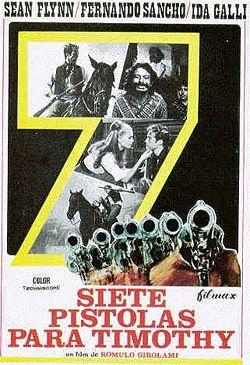 7 colts du tonnerre ( Sette magnifiche pistole ) –1966- Romolo GIROLAMI 250px-11