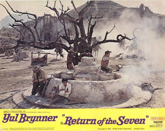 Le retour des 7 - Return of the Magnificent Seven -  1966 - Burt Kennedy  30472110