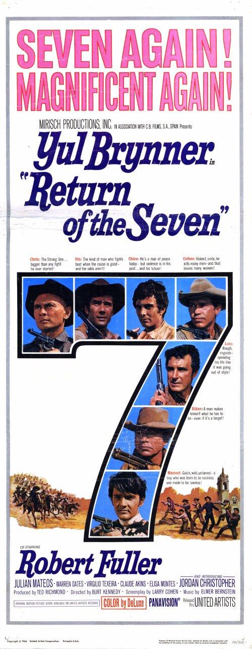 Le retour des 7 - Return of the Magnificent Seven -  1966 - Burt Kennedy  31333910
