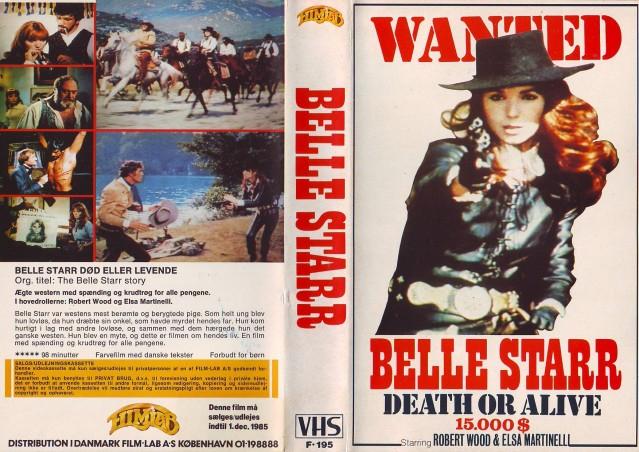 The Belle Starr Story (Il Mio Corpo per un poker) –1968- Piero CRISTOFANI Belles10