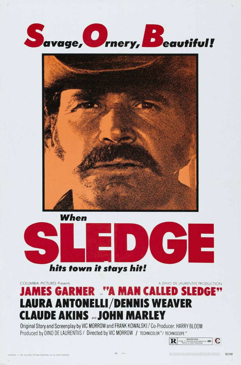 Un nommé Sledge - A Man called Sledge - 1969 - Vic Morrow Cabalg10