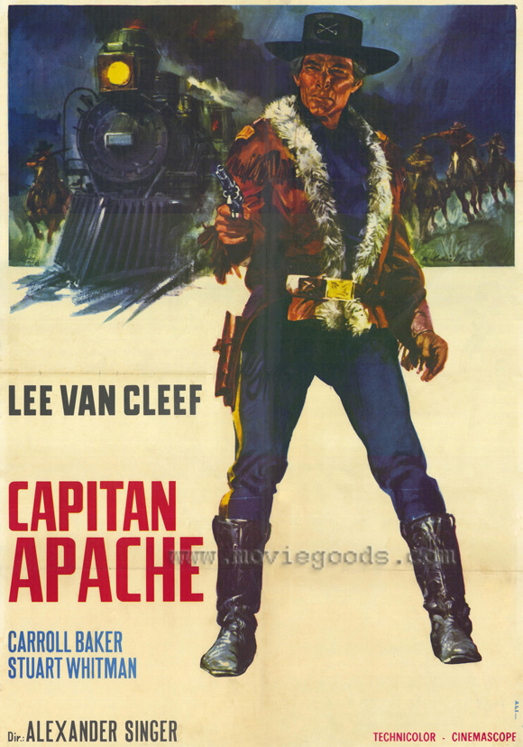 Captain Apache (April Morning) -1971-  Alexander SINGER Captai10