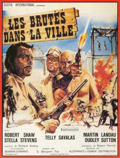 Les brutes dans la ville - A Town Called Bastard - 1971 -  Robert Parrish En149810