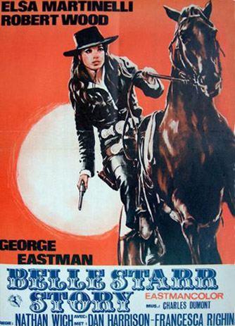 The Belle Starr Story (Il Mio Corpo per un poker) –1968- Piero CRISTOFANI En151710