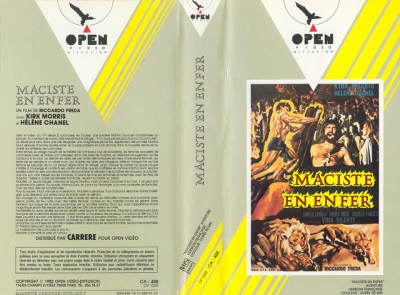 La fureur d´Hercules (Ursus, 1960) Carlo Campogalliani  F2810