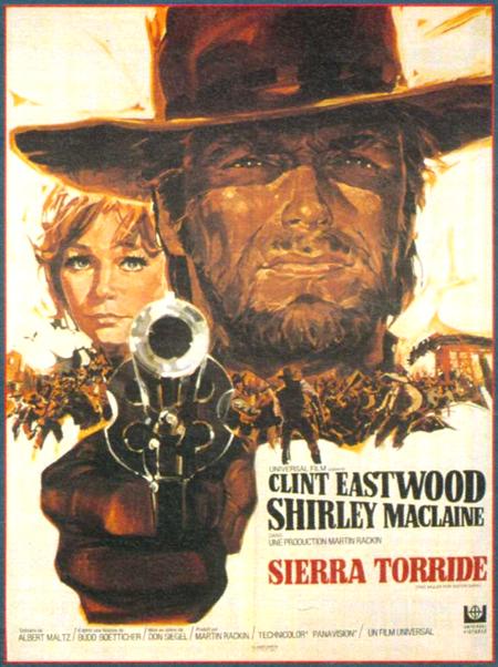 Sierra Torride -Two mules for Sister Sara -1969 . Don Siegel . Gaff5710